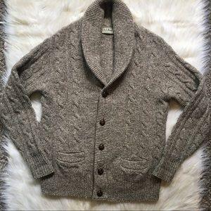 L.L. Bean Men's Vintage Virgin Wool Cardigan